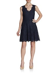 Joie Nikolina Lace Dress Caviar
