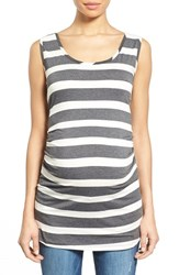 Nom Maternity Women's 'Joey' Ruched Tank