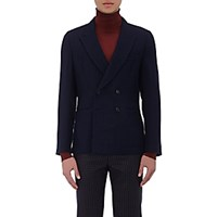 Paul Smith Men's Soho Wool Double Breasted Sportcoat Navy