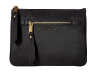 Marc Jacobs Trooper Flat Cosmetics Pouch Black Travel Pouch