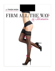 Berkshire Firm All The Way Lace Top Thigh Hi Stockings Black