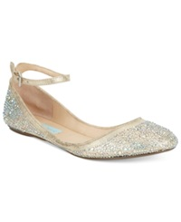 Blue By Betsey Johnson Joy Evening Flats Women's Shoes