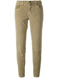 Current Elliott Corduroy Trousers Green