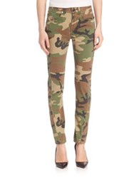 Rag And Bone Camo Skinny Jeans