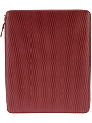 Comme Des Garcons Play 'Luxury' Ipad Case Red