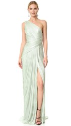 Maria Lucia Hohan One Shoulder Gown Quartz