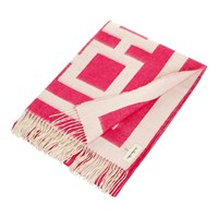 Jonathan Adler Richard Nixon Throw Pink