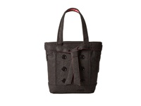 Ogio Hamptons Tote Dark Gray Felt Tote Handbags Black
