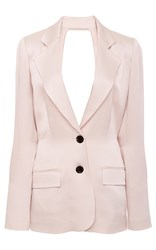 Marissa Webb Lois Open Back Blazer Tan