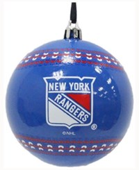 Memory Company New York Rangers Ugly Sweater Ball Ornament Blue