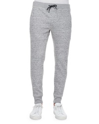 Theory Morris Drawstring Sweatpants Gray