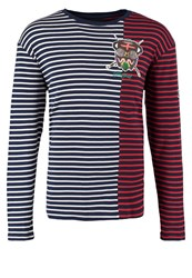 Desigual Sailor Pop Jumper Negro Iris Dark Blue