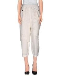 Jeremy Laing Trousers Casual Trousers Women White