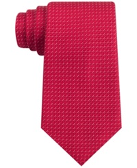 Club Room New Equity Check Tie Red
