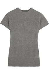 Iris And Ink Short Sleeved Cashmere Sweater