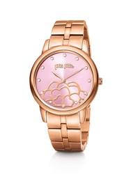 Folli Follie Santorini Flower Rose Gold Pink Watch