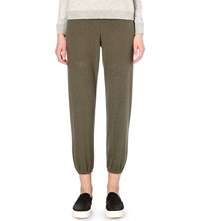 Sundry Classic Slim Fit Jersey Jogging Bottoms Olive
