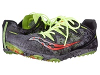 Saucony Carrera Xc Flat Grey Black Citron Men's Shoes Gray