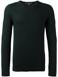 John Varvatos Crew Neck Jumper Green
