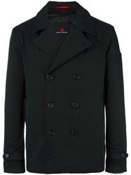 Peuterey Double Breasted Boxy Blazer Black