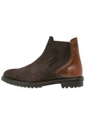 Paul And Joe Islande Boots Testa Di Moro Dark Brown