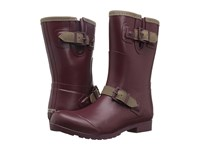 Sperry Walker Fog Maroon Khaki Women's Waterproof Boots Red