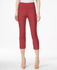 Styleandco. Style Co. Pull On Capri Pants Only At Macy's Dark Rose