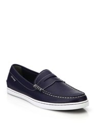 Cole Haan Pinch Weekender Casualslip On Loafers Peacoat White