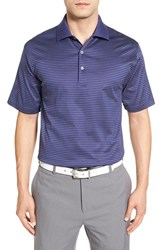 Peter Millar Men's 'Subconscious' Stripe Golf Polo