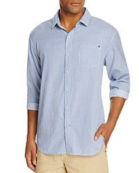 Tommy Bahama Twill Light Stripe Long Sleeve Shirt Compare At 118 Grecian Blue