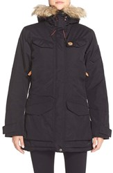Fjall Raven Women's Fj Llr Ven 'Nuuk' Waterproof Hooded Parka With Faux Fur Tirm