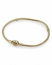 Pandora Design Pandora Bracelet 14K Gold With Signature Clasp 19 Cm Moments Collection