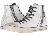 Converse Chuck Taylor All Star Side Zip Heavyweight Canvas Hi Black Beluga Turtledove Lace Up Casual Shoes