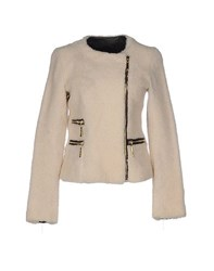 Hotel Particulier Coats And Jackets Jackets Women Ivory