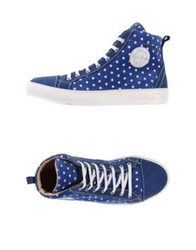 Gold Brothers High Tops And Trainers Blue