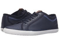 Ben Sherman Chandler Lo Coated Canvas Navy Men's Lace Up Casual Shoes