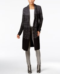 Styleandco. Style Co. Ombre Duster Cardigan Only At Macy's Dp Black Combo