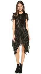 Zadig And Voltaire Rool Shiny Dress Noir