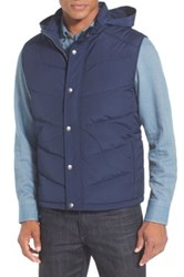 Nordstrom Quilted Down And Feather Fill Vest Blue