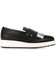 Mcq By Alexander Mcqueen 'Manor' Loafers Black