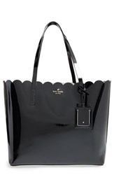 Kate Spade New York 'Lily Avenue Patent Carrigan' Leather Tote