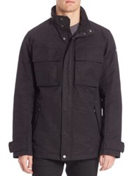 Victorinox Water Repellent Hooded Jacket Black