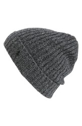 Polo Ralph Lauren Men's Cashmere And Wool Beanie Black Salt And Pepper