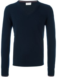 Moncler Roll Neck Sweater Blue