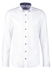 Eterna Slim Fit Formal Shirt Weiss White