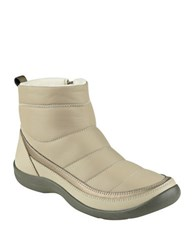 Easy Spirit Kamlet Side Zipped Ankle Boots Taupe