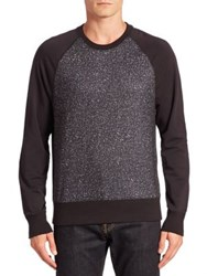 Saks Fifth Avenue Abstract Raglan Sweatshirt Multi