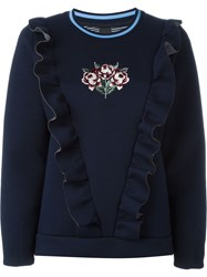 Mother Of Pearl 'Daisy' Jumpers Blue