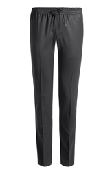 Zadig And Voltaire Wool Twill Drawstring Pants