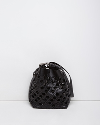 3.1 Phillip Lim Quill Basket Bucket Bag Black